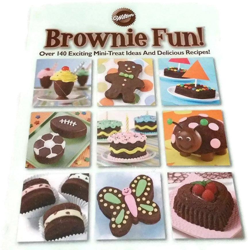 Wilton Brownie Fun 140 Mini Treat Ideas and Recipes Wilton - photo#34