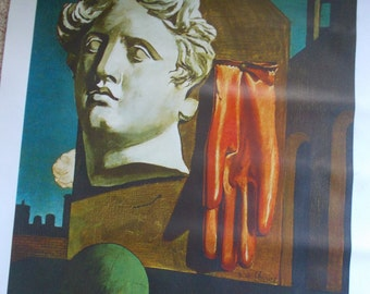 "Le Chant D'Amour, 1914 by Giorgio De Chirico (""The Song of Love"")"