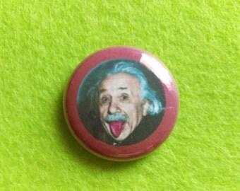 Albert Einstein Pin