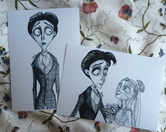 Corpse Bride Art Prints