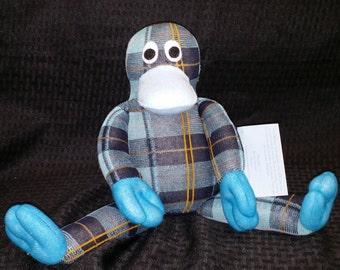Custom Handmade Sock Platypus
