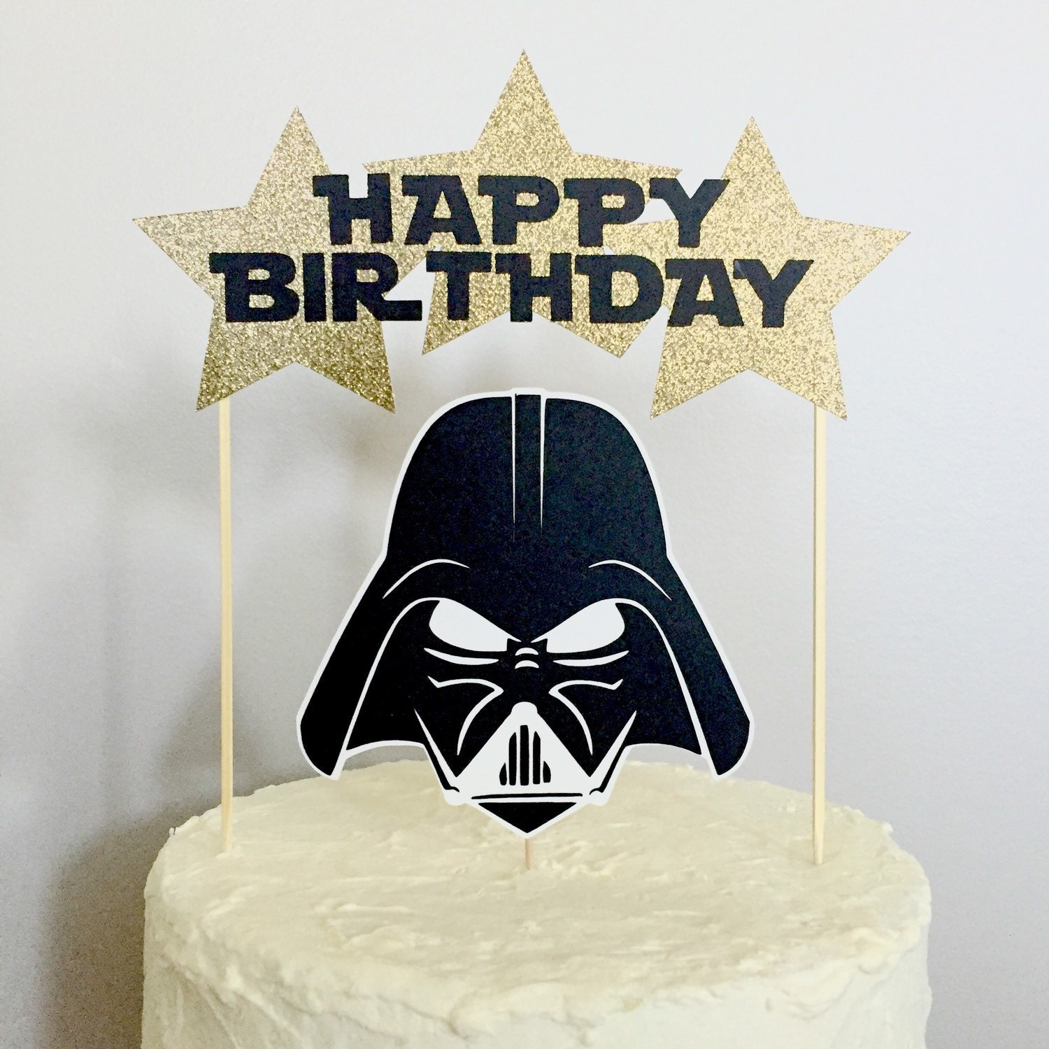 Star Wars Character Happy Birthday Cake Topper