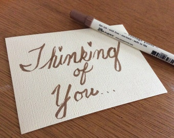Add-on: Handwritten Card