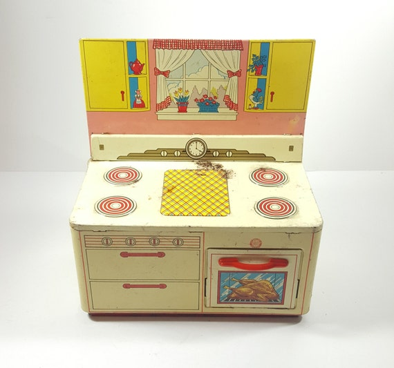 Toy Kitchen Accessories Stove Top