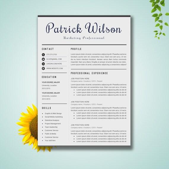 resume template word cv template cover letter paper letter