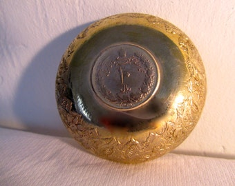 Antique coin bowl