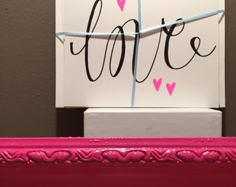 LOVE note cards (set of 4, with envelopes)