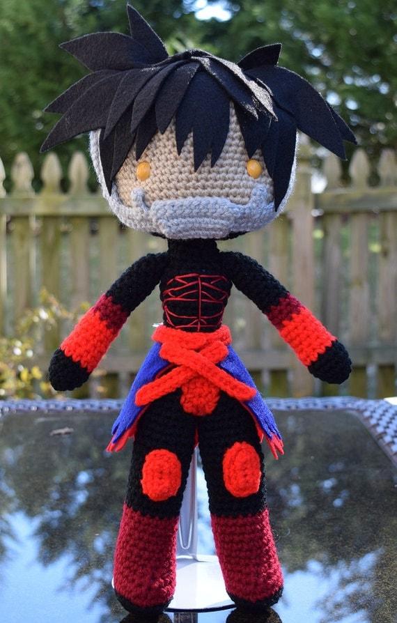 Kingdom Hearts Vanitas Amigurumi Plush Doll