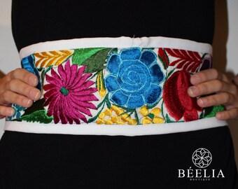 Benita embroidered belt