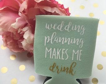Gift for Bride*Bachelorette Party Favor*Bride Can Cooler*Gift for Bride*Wedding Planning*Engagement Gift*Bride Tribe*