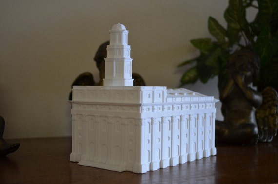Wedding Statue Gifts: Nauvoo Temple Statue LDS Temple CakeTopper Wedding Gift