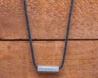 Industrial grey rope & piece 2623