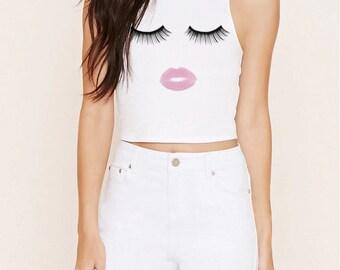 Kiss Kiss- Crop Top