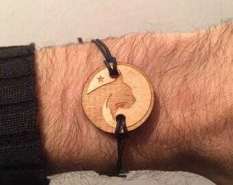 Bracelet Bearz Lynx round