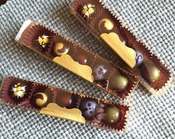 Chocolate candy (bonbons). Best gift for those, who loves good chocolate. Add a message for free.