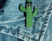 Cacti Guy Soft Enamel Lapel Pin