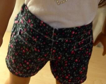 18inch doll shorts