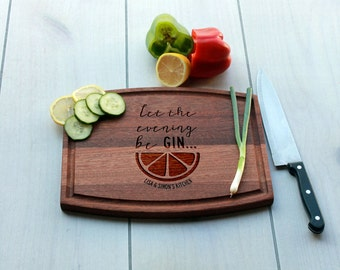 Personalized Cutting Board, Custom Cutting Board, Engrave Cutting Board, Monogramme Cutting Board, Custom Wedding Gift --CBA-MAH-BEGIN