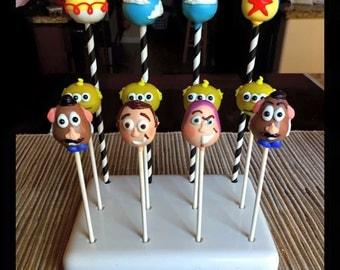 Toy Story Themed Cake Pops