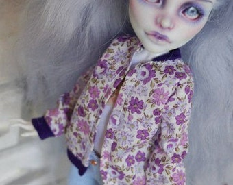Сlothes for dolls monster, jeans and jacket