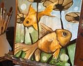 Go Fish (Four), 2013, acr...