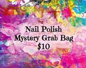 Nail Polish Mystery Grab Bag, Nail Polish Subscription Box, Nail Polish Mystery Box, Grab Bag