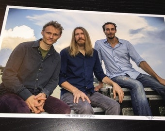 The Wood Brothers - Lockn' Music Festival - 2014 - 8x12 Limited Edition signed and #/5 print