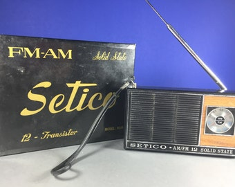 Transistor Radio by Setico
