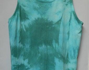 Tie Dye acid wash vest top sleeveless T shirt hipster festival grunge Retro galaxy men  women ndie dip dye indie skate rave tank top