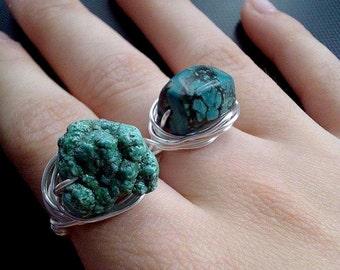 Turqoise rings
