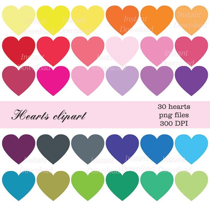 Valentine clipart | Etsy
