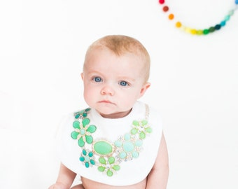 Bib Necklaces, Baby bib, baby bib necklace, baby accessory, max and mae bib, maxandmaekids