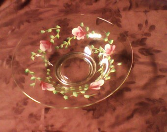 Rose buds bowl