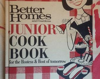 Vintage 1963 Better Homes and Gardens Junior Cookbook