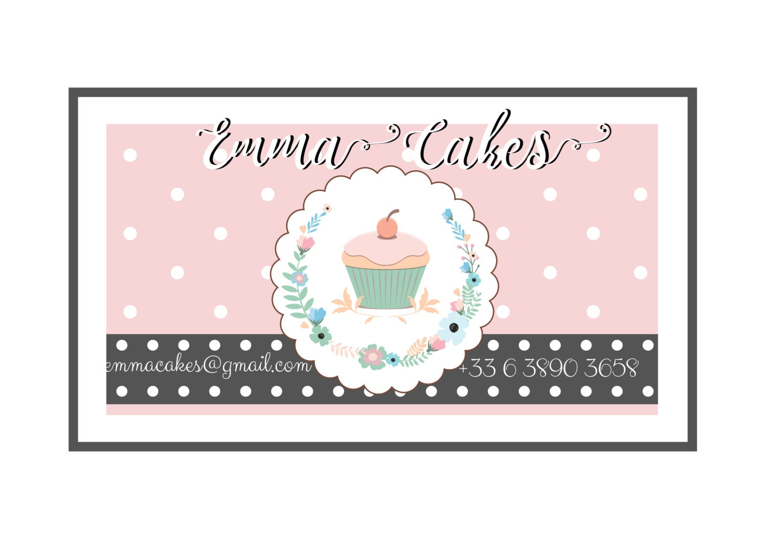 Cupcake Business Cards | Unlimitedgamers.co