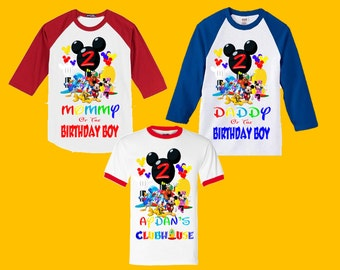 Mickey Mouse Clubhouse Birthday Shirt - Family Shirts