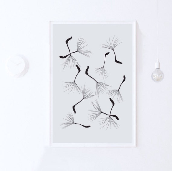 Wall Art Prints Download : Bedroom wall art botanical print nature by modeaprints on etsy