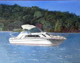 Custom painting - your watercraft / aircraft - SOLD