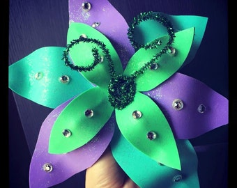Mermaid Flower Clip