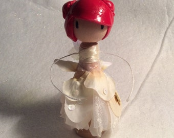 Fairy Clothespin Doll