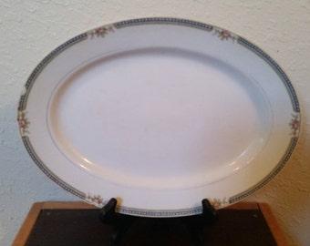 noritake platter Doris pattern/noritake platter/noritake/vintage platter/13 inch platter/vintage floral platter