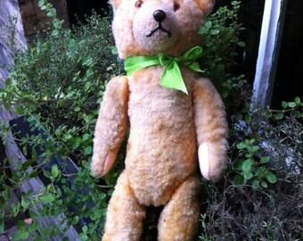 1950s German Wool Vintage Teddy Bear