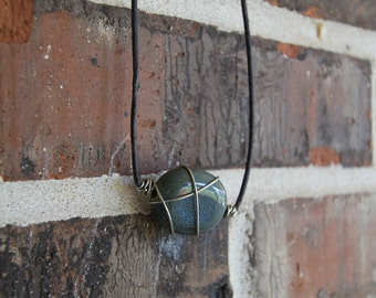 Wirewrapped necklace