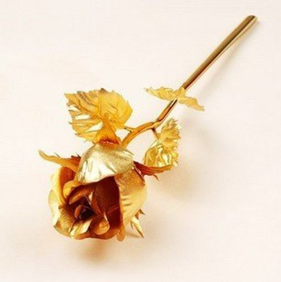 Mother's day - Gold dipped rose - roses - gift - mother gift - girlfriend gift - unique