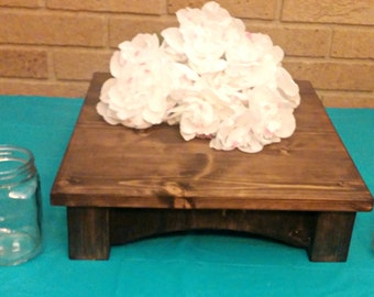 Wedding Cake Stand, Reclaimed wood, Custom Cake Stand, Rustic Cake Stand, Country Wedding decor