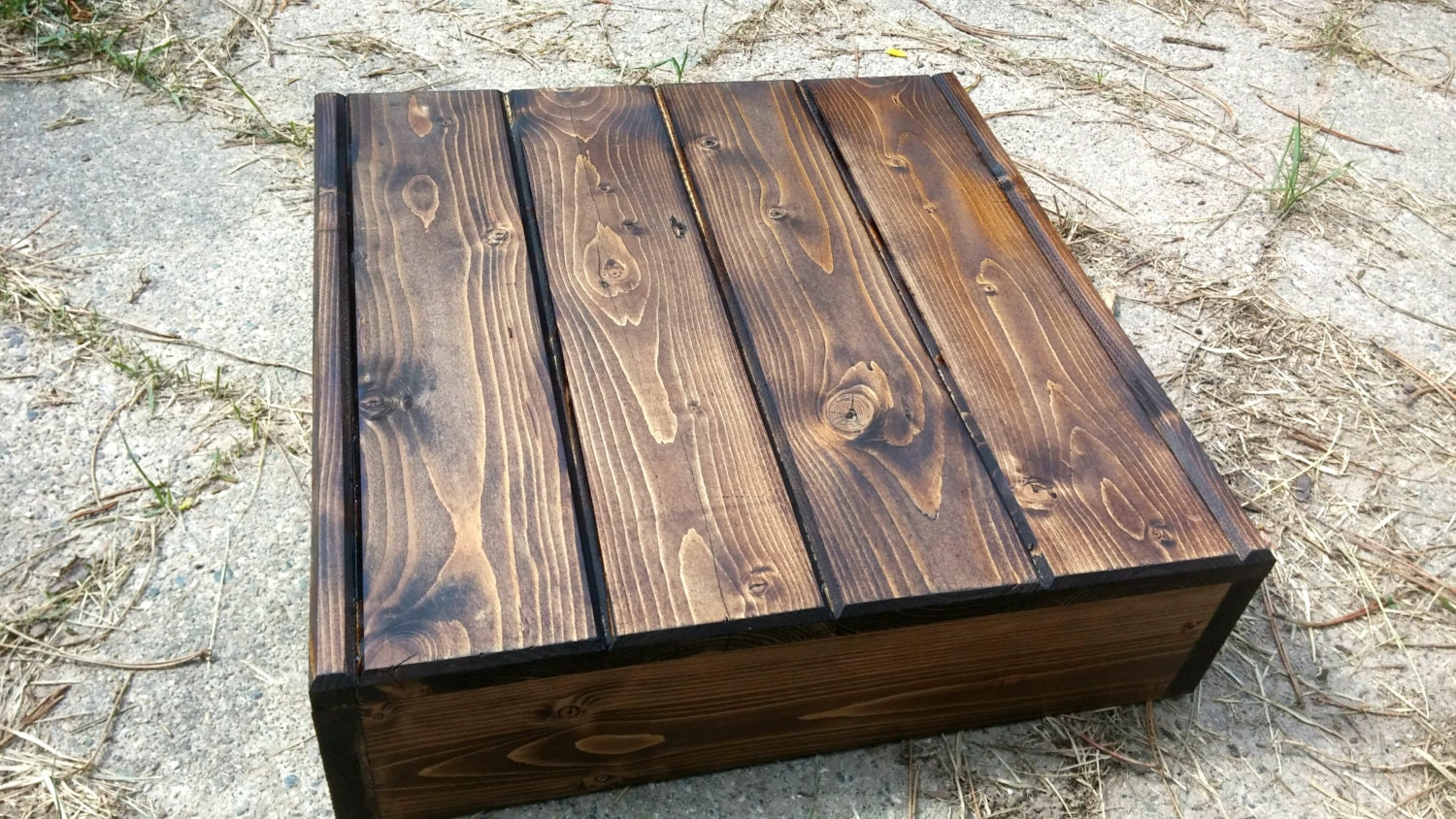 Wedding Cake Stand Reclaimed Wood Rustic By MittenMadeWeddings. Full resolution  portrait, nominally Width 1500 Height 844 pixels, portrait with #2C241B.