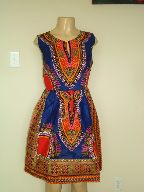 Dashiki Gown/ Ankara Dress