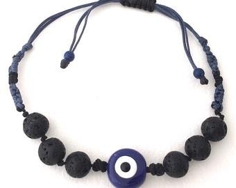 Bracelet Lava Santorini - Eye