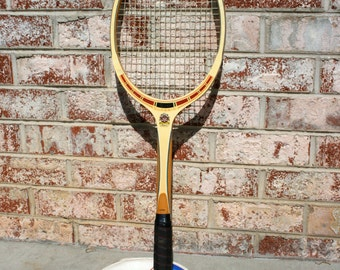 TAD Davis Wood Tennis Racquet// Classic With Original Head Cover//Vintage Davis Tennis Racquet