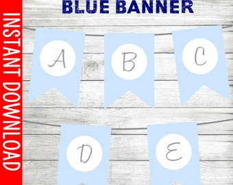 Sweet Baby Blue Banner